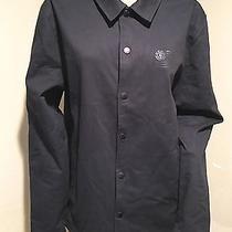 Men's Element Nwt Black Logo Jacket Sz M Photo