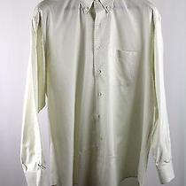 Men's Ermenegildo Zegna Xl Dress Shirt 17 X 35.5 Cotton Check Photo