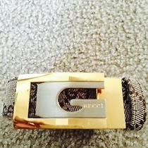 Men's Exclusive Gucci Belt Gold & Silver Buckle Photo