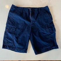 Mens Express Cargo Shorts - Navy Blue - Size 31 Photo