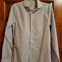 Men's Express Extra Slim Small Dress Shirt Photo