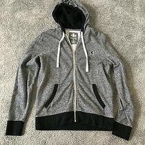 Mens Express Full Zip Gray Hoodie Size Small Barely Worn in Great Condition Photo