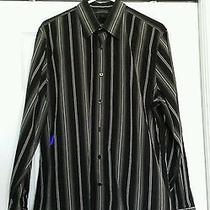 Men's Express Modern Fit Dress Shirt Large Photo