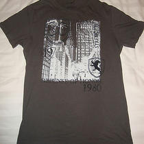 Men's Express New York City Gray Small Graphic T-Shirt  Photo