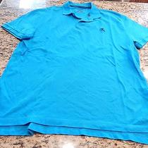 Men's Express Polo Bright Blue Xl Modern Fit Photo