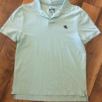 Men's Express Polo Shirt .size Medium .color Light Blue Photo