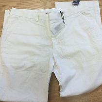 Men's Express Producer Pants W34 L30 White Nwt Price Reduced  Photo