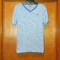 Men's Express Short Sleeve v-Neck T-Shirt Size Xs Photo