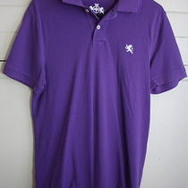 Men's Express Size Small Purple Polo Shirt  Photo