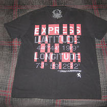 Men's Express v Neck T-Shirtsize Large Photo