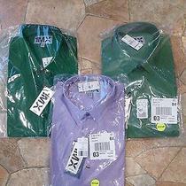 Men's Fitted Express 1mx Dress Shirts Nwt Size Medium M Lot of 3 Shirts Photo