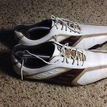 Men's Footjoy   Golf Boots Shoes Size 9 M Us White/tan. Ked Photo