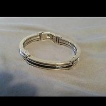 Men's Fossil Bracelet Stainless Steel Photo