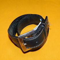 Men's Fossil Dark Brown Genuine Leather Belt Size 34/85cm.. Photo