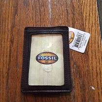 Men's Fossil Metal Front Pocket Wallet Photo