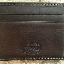 Men's Fossil Wallet Photo