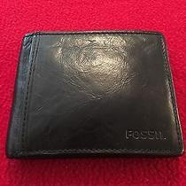 Men's Fossil Wallet - Black Photo
