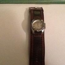 Men's Fossil Watch Leather Barely Used Photo