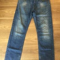 Men's French Connection Jeans  Blue Button Fly - Size W30 L32 Photo