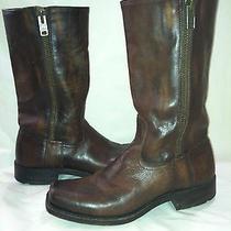 Men's Frye  Brown Cognac Boots 9.5 D Photo