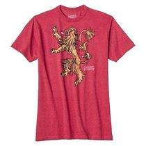 Men's Game of Thrones Lannister Griffin Graphic Tee - Red Photo