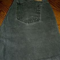 Men's Gap Black Cotton Cut-Off Jeans Shorts/5 Pockets/size 40 Photo