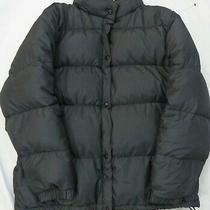 Men's Gap Black Puffer Coat Down Filled  Heavyweight Jacket Size Xl Photo