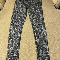 Men's Gap Gray Black Compression Running Tights Small S Photo