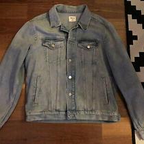 Mens Gap Jean Jacket Size Large in Light Blue Photo