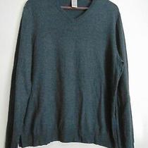 Men's Gap v Neck Sweater Dark Gray Size Small Brand New Photo