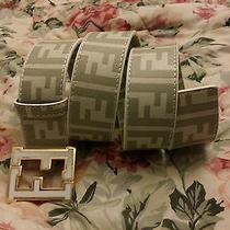 Men's Genuine Leather Fendi Belt. Size 30-34 Photo