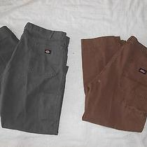 Men's Gray Dickies 44 X 28 Pants With Free Gift Photo