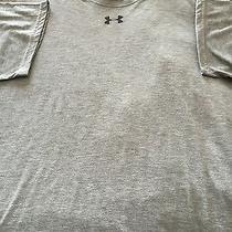 Men's Gray Under Armour Heat Gear T-Shirt Size Xl Photo