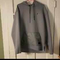 Mens Gray Under Armour Hoodie - Size Xl Photo