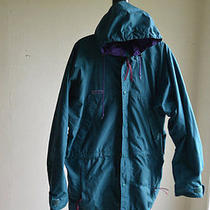 Men's Green Columbia Radial Sleeve Hooded Coat Jacket Size Large Photo