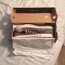 Men's Grey Converse Low Tops - Size 11 Photo