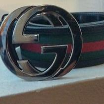 Men's Gucci Belt 32-34 100% Authentic  Photo