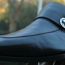 Men's Gucci Black Leather Gg Logo  Loafers  Dress Shoes Gucci Brand Size 10.5 D  Photo