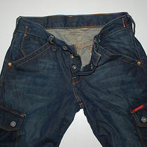 Men's Guess  Cargo Jeans   Size W30xl32   Mint Condition Photo