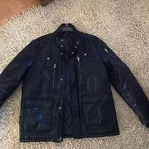Men's Guess Coat Large ..nice Like New  Photo