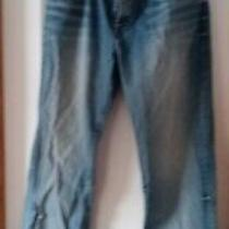 Men's Guess Desmond Relaxed Straight Jeans Size 38 X 34 Photo