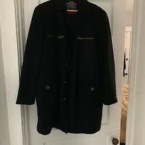 Men's Guess Long Jacket Wool Polysester Winter Fall Jacket Photo