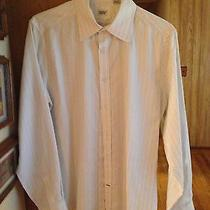 Men's Guess Marciano - White Dress Shirt - Size Large L Photo