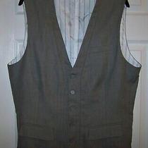 Men's Guess Vest (Xl Slim Fit Gray) Photo