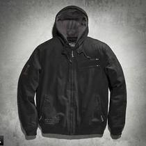 Men's Harley-Davidson Machine Bolt Hooded Jacket  Photo
