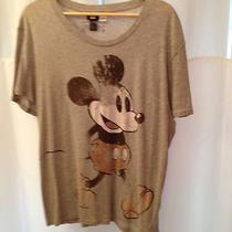 Men's Heather Gray h&m/disney Mickey Mouse