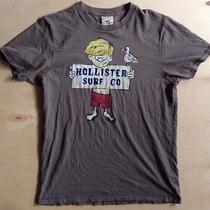 Men's Hollister Surf Co. Surfing Tee T-Shirt Vintage Large Photo