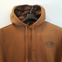 Men's Hoody Dickies Fleece Pullover M/l Brown/denim Grey Was 34.99 Photo