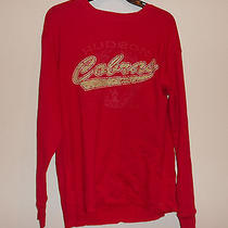 Men's Hudson High School Cobras Long Sleeve Henley Size Medium Free Shipping Photo