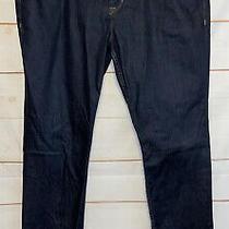 Men's Hudson Sartor Slouchy Skinny Jeans Dark Wash Denim Blue Size 38 M755dbg Photo